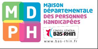Logo Maison des personnes handicapées Bas-Rhin (Maison Départementale du Handicap)
